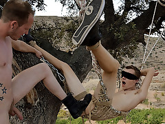 Blindfolded Twink Boy Takes A Fat Dick! - Jack..