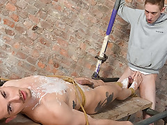 Fit French Cock Marionette Nathan! - Nathan Hope..
